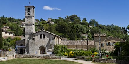 Visit the Abbey of Valbonne, a true haven of peace