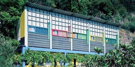 Le Corbusier's shed in Roquebrune-Cap-Martin