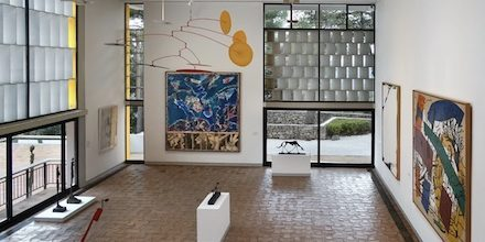 Paying tribute to the artists of the Maeght Foundation