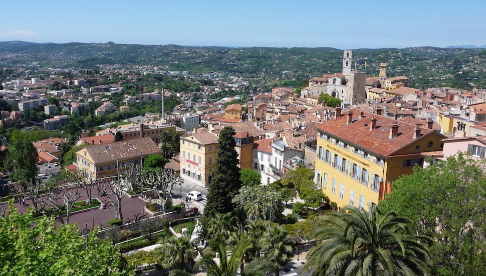 Grasse city center