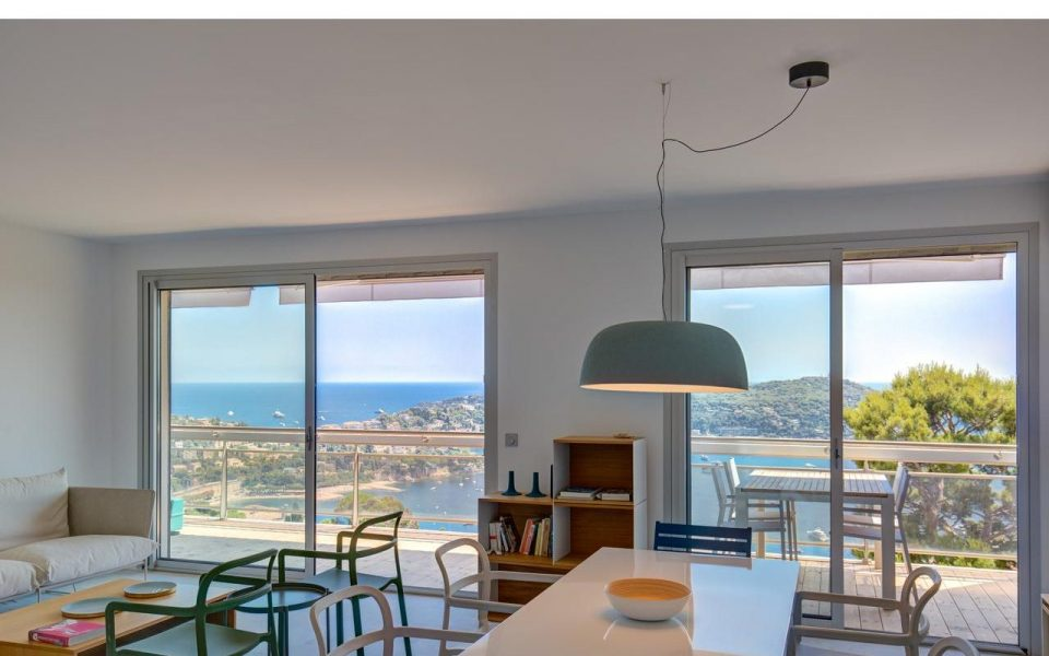 Villefranche sur mer – 3 Bedrooms With Panoramic View of the Harbour and Cap Ferrat