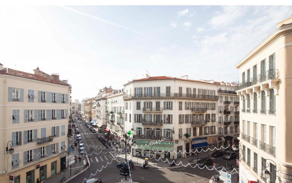 Nice Centre Ville – Magnificent 4 rooms 88m2 refurbished