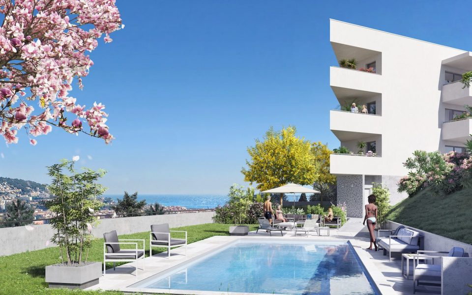 4 prestigious rooms in a new residence in Cimiez : photo 2