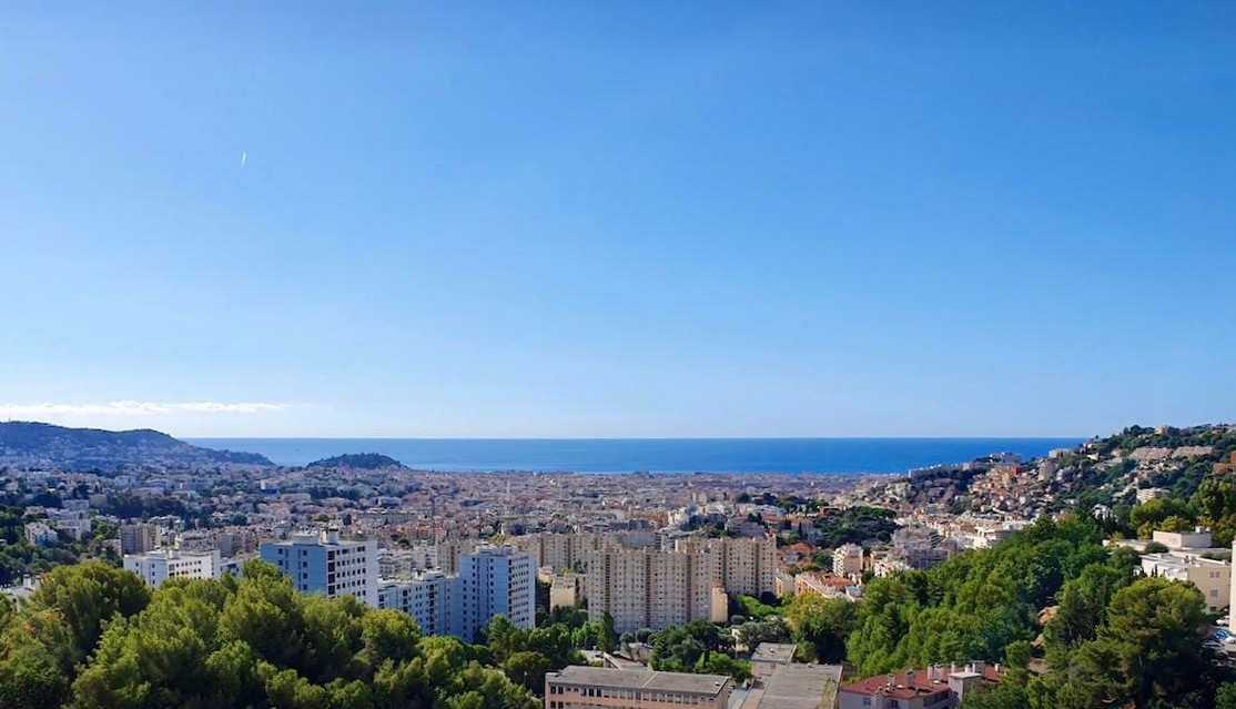 Nice – New One Bedroom Apartment in a Small Residence with Panoramic Sea View in Nice