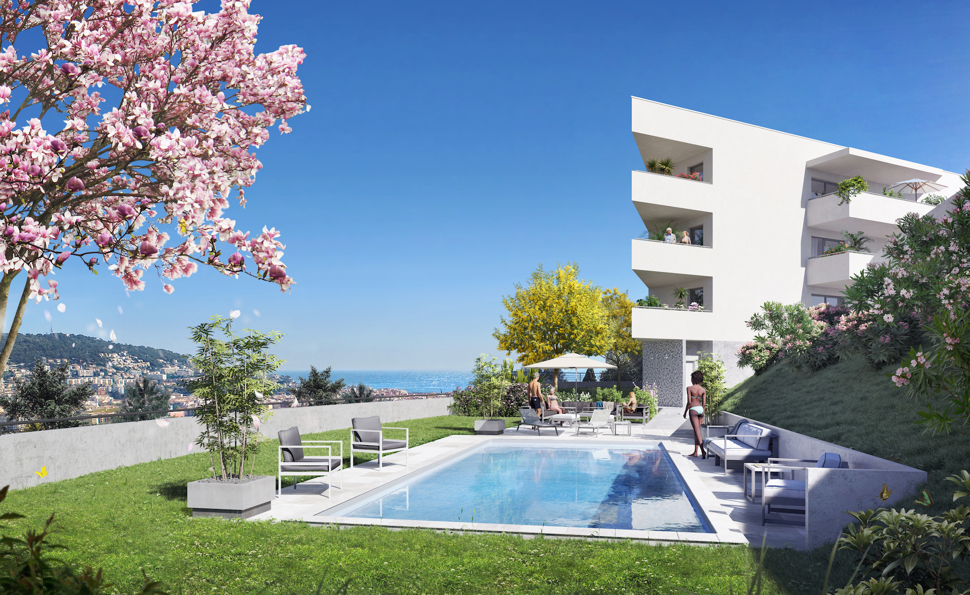 Nice Cimiez – Prestigious 3 Bedrooms Apartment in a New Residence