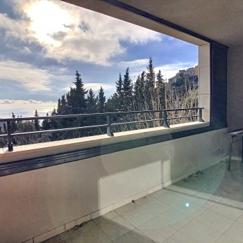 Eze – Nice renovated 2 room apartment with sea view terrace