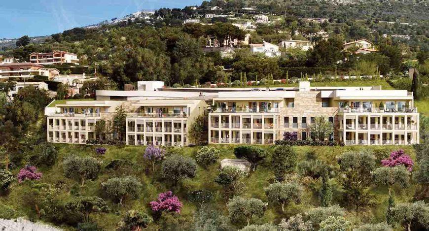 Eze – Sublime appartement aux portes de Monaco face à la mer