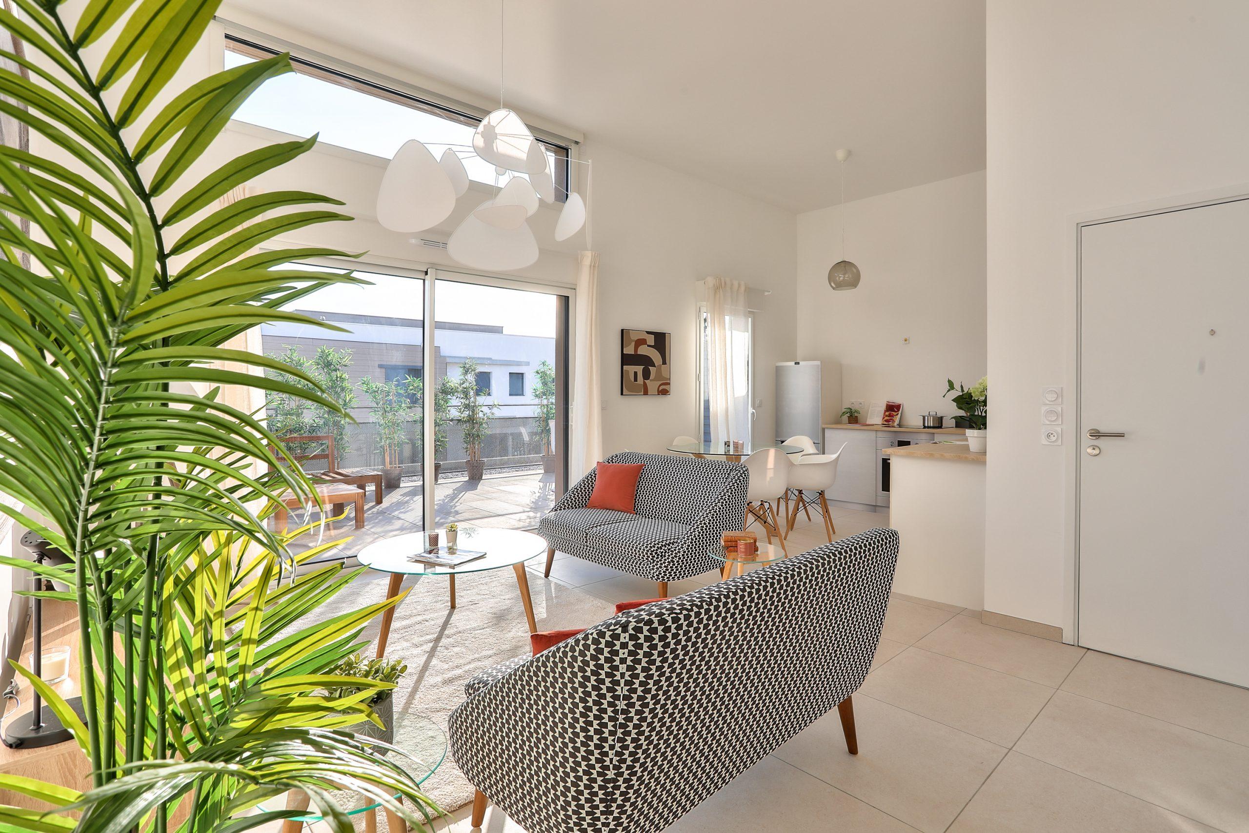 Villeneuve-Loubet – Rooftop terrace apartment of 4 Rooms in luxury residence