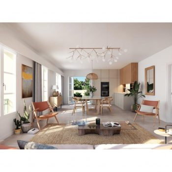Le Rouret – Spacious One Bedroom Apartment in a Residence with Provencal Architecture