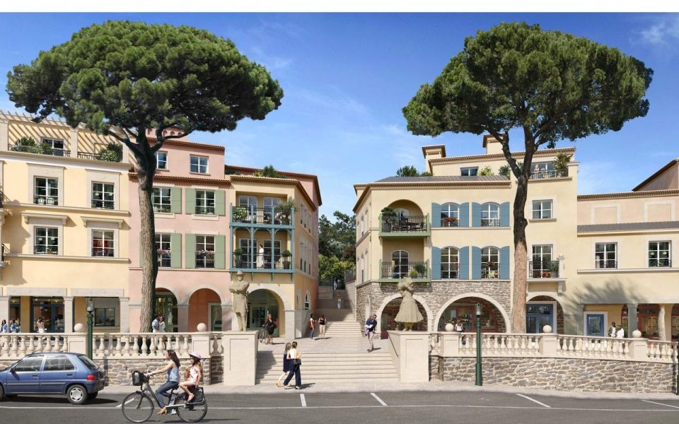 Le Rouret – Spacious 4 bedrooms apartment in a residence with provencal architecture