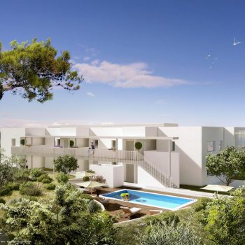 Nice – New 2 Bedrooms Apartment in a Small Residence with Panoramic Sea View