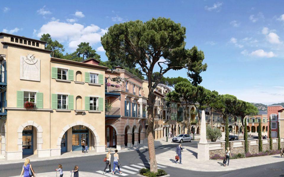 Le Rouret – Chaleureux 2 pièces dans résidence à l'architecture provençale
