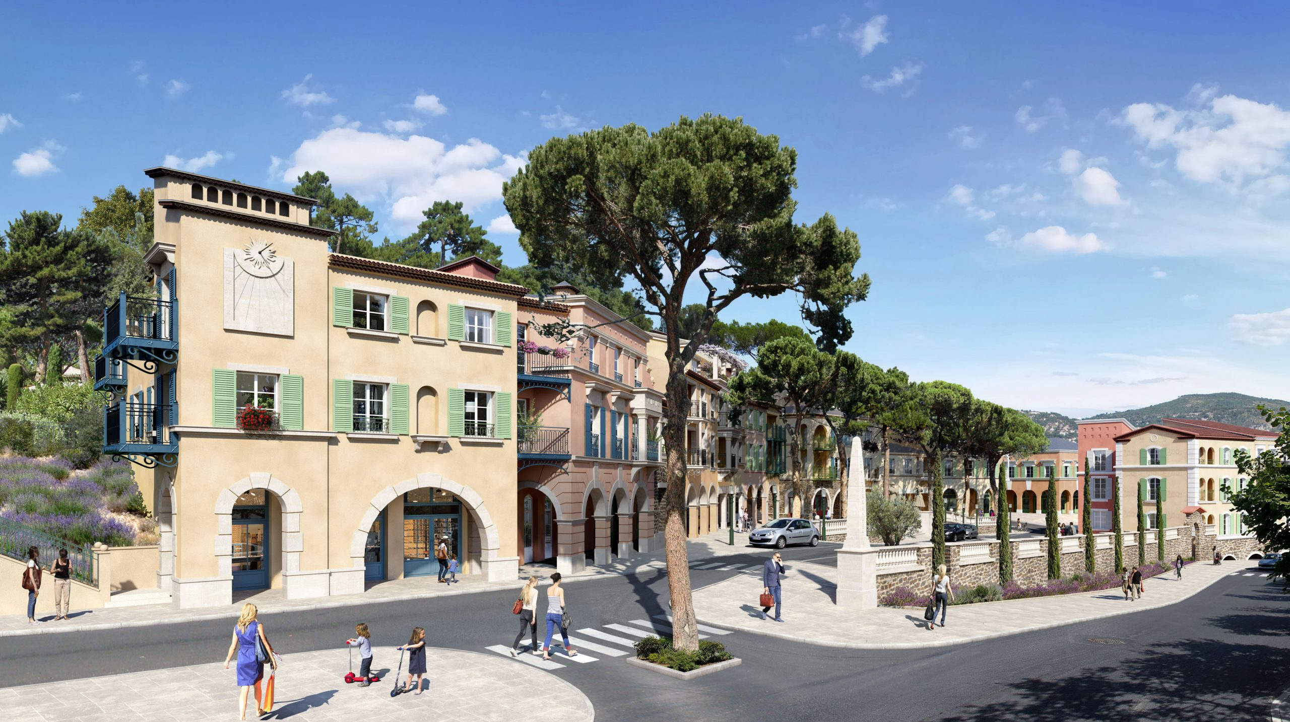 Le Rouret – Spacious 4 room apartment in a residence with provencal architecture