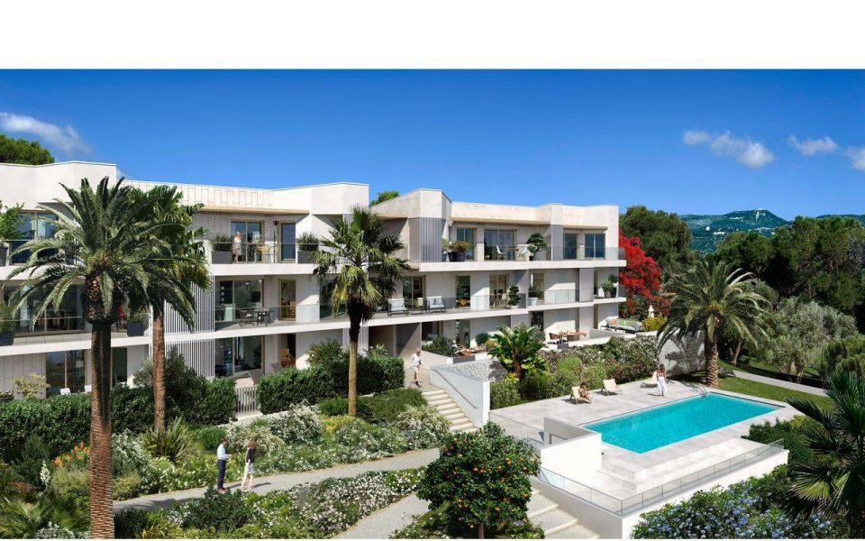 Nice West – Two bedrooms appartment 53.5 sqm on the ground floor