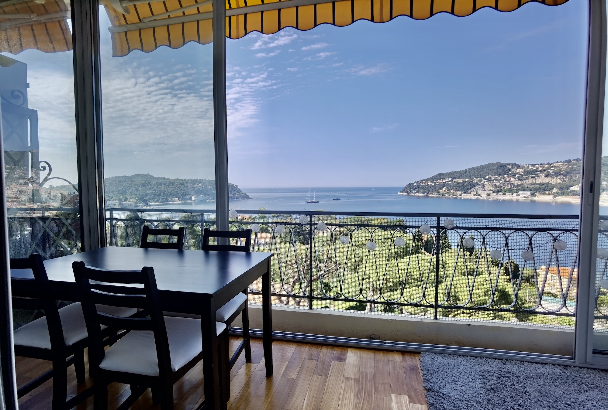Rade de Villefranche – Beautiful 2 Bedrooms Apartment with Panoramic sea view