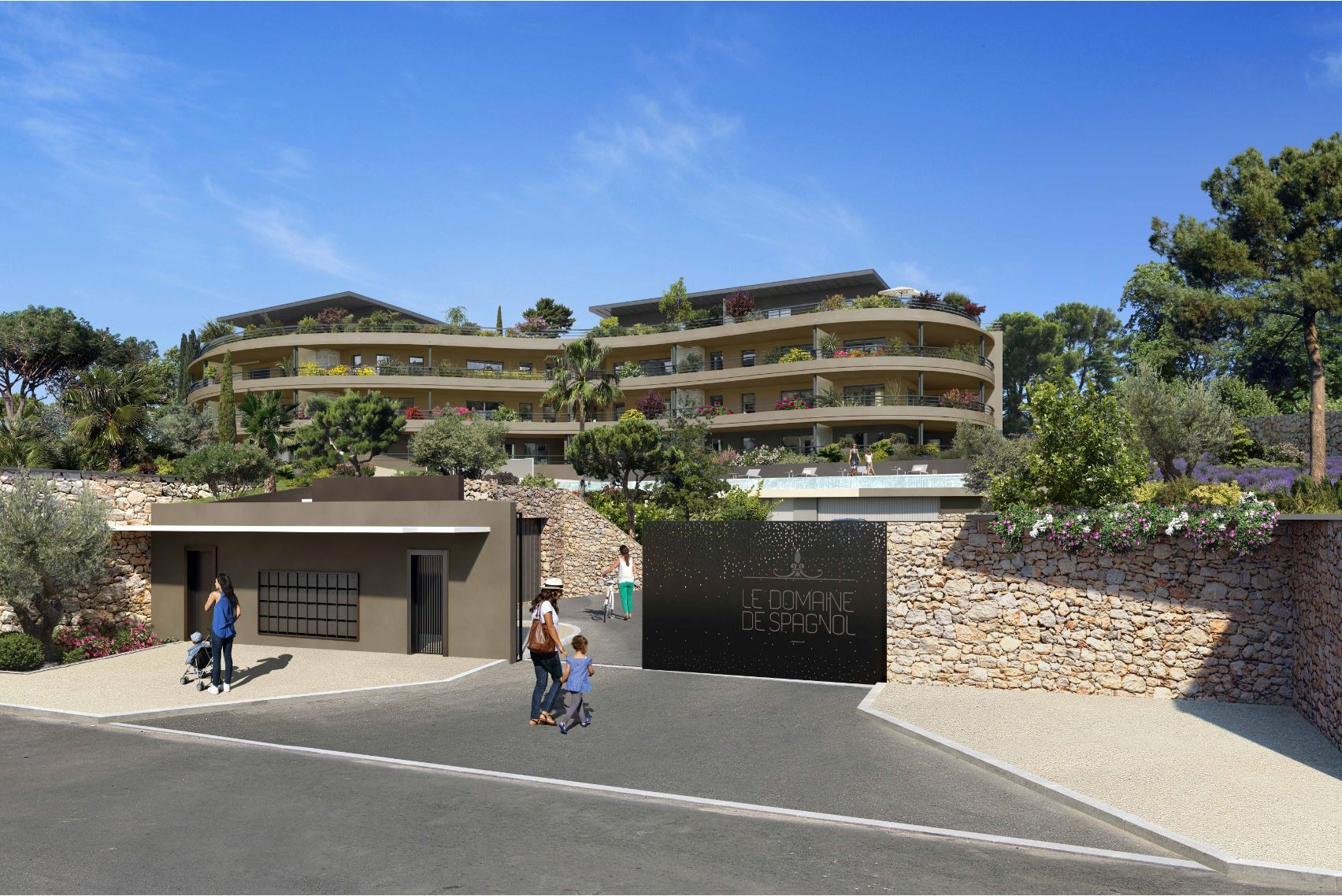 Nice Fabron – Three Bedrooms Apartment in Residence with Swimming Pool