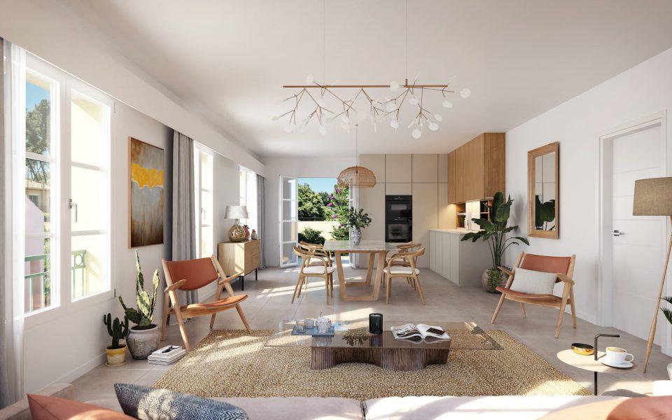 Le Rouret – Spacieux 4 pièces dans résidence à l'architecture provençale
