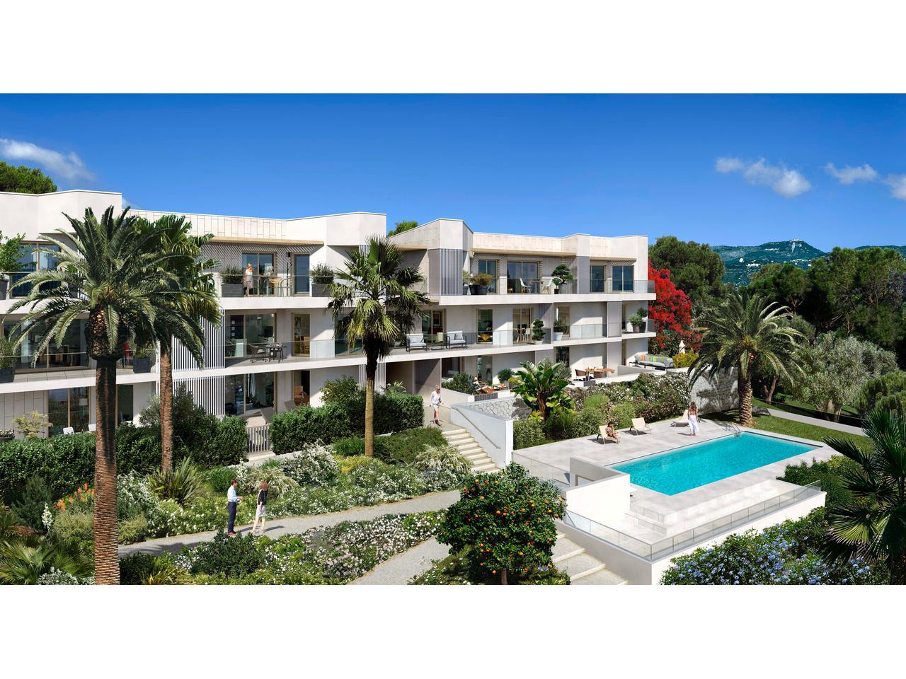 Nice Ouest – 3 Pièces 53,5 m² en rez de jardin