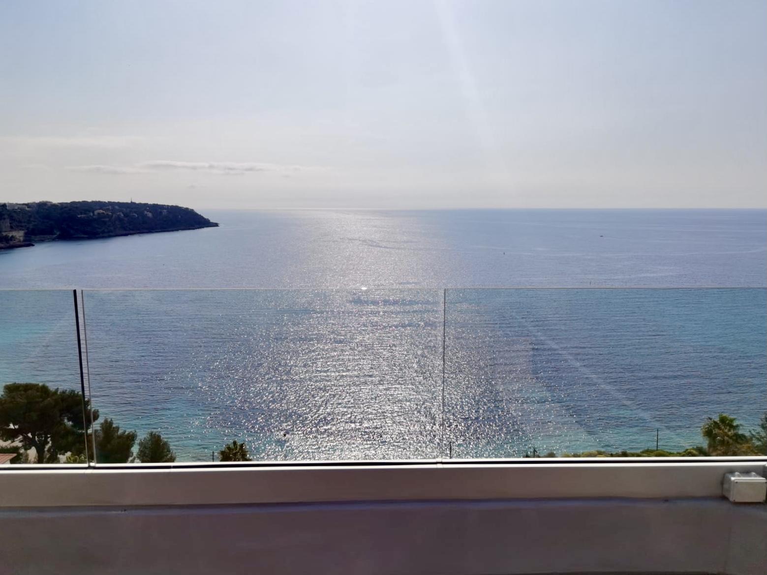 Roquebrune-Cap-Martin 3 Pièces Terrasse et Vue Mer